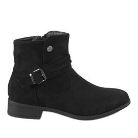 Kayla Shoes Zwarte laarzen JKD-52