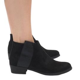 Zwart geïsoleerde laarzen 88861