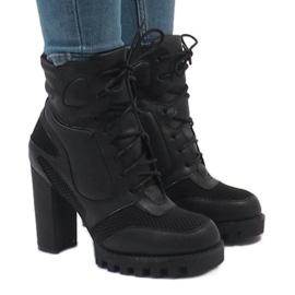 Vices Zwarte laarzen op post 9132-1