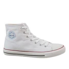 Witte klassieke heren sneakers CQ-1401