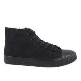 Zwarte heren sneakers XN50