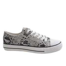 Witte heren sneakers BKA-9