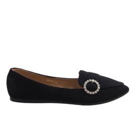 Zwarte balletschoenen DY-01