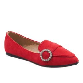 Rood Rode balletschoenen DY-01