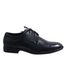 Marine Donkerblauwe elegante schoenen D181502B