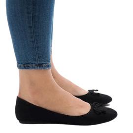 Zwarte ballerina's 006-1