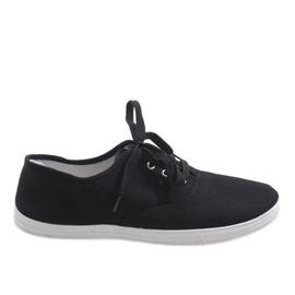 Zwarte heren sneakers SR13103