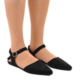 Zwarte balletschoenen 235-4