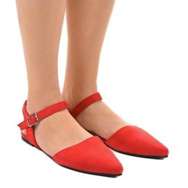 Rood Red ballerina's sandalen 235-4