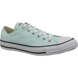 Blauw Converse schoenen C. Taylor All Star Ox Teal Tint In 163357C