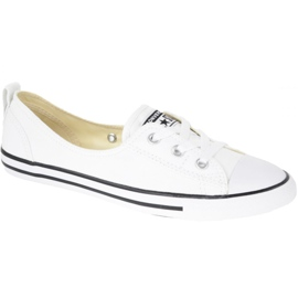Wit Converse schoenen Chuck Taylor All Star Ballet Lace In C547167C