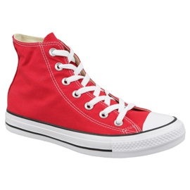 Rood Converse schoenen Chuck Taylor All Star Hi M9621C