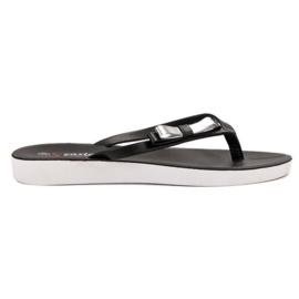 Seastar Flip-flops met strik zwart
