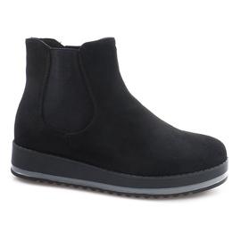 Zwart Geïsoleerde laarzen voor laarzen K-105 Black