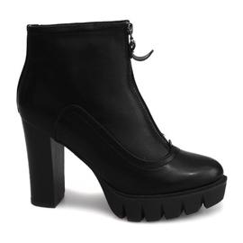 Zwart Boots On A Slider Slider 1512-2 Black