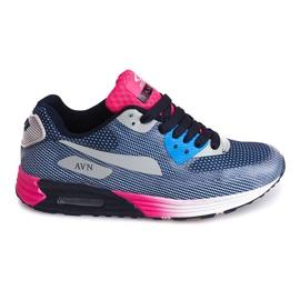 Sportschoenen B49-6 Blauw