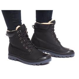 Geïsoleerde laarzen X5903 Zwart