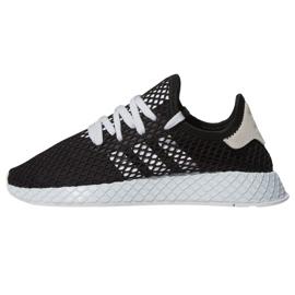 Zwart Adidas Originals Deerupt Runner schoenen W EE5778