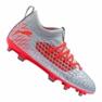 Voetbalschoenen Puma Future 4.3 Netfit Fg / Ag Jr 105693-01 grijs rood, grijs / zilver
