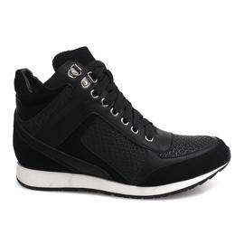 Sneakers Wedge 58804 Zwart