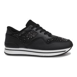 Zwarte sportschoenen Odette