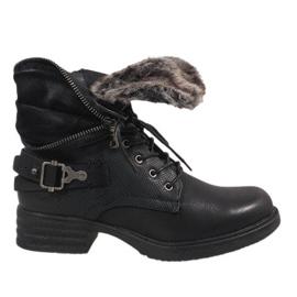 Zwart geïsoleerde laarzen JA3203