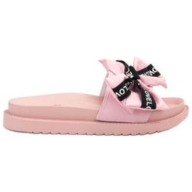 Jumex roze Flip Flops With Love Bow