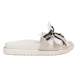 Jumex Flip Flops With Love Bow