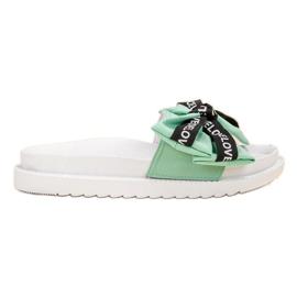 Jumex groen Flip Flops With Love Bow