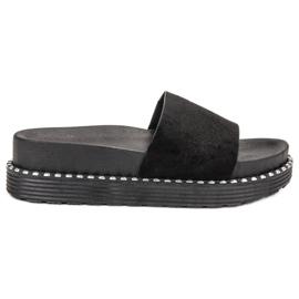 Melisa zwart Flip Flops