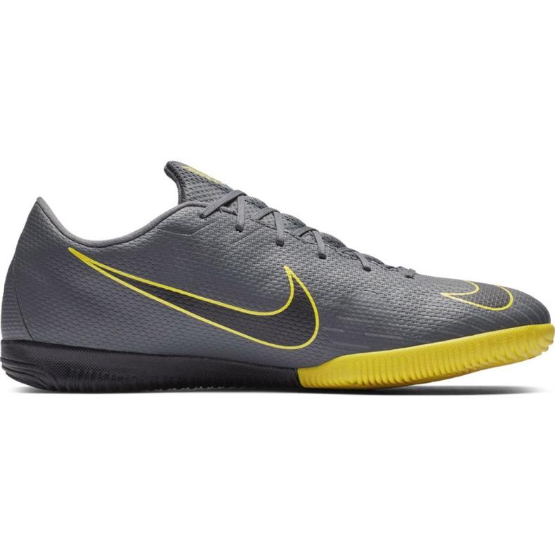 Voetbalschoenen Nike Mercurial Vapor X 12 Academy Ic grijs M AH7383 070 grijs / zilver