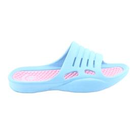 Schuim-flip-flops voor American Club blauw water