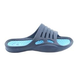 Marine Schuim-flip-flops voor American Club blauw water