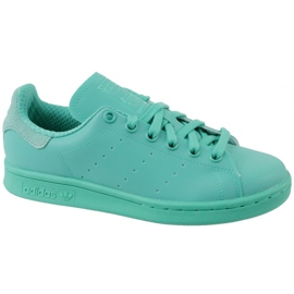 Blauw Adidas Stan Smith Adicolor Schoenen W S80250