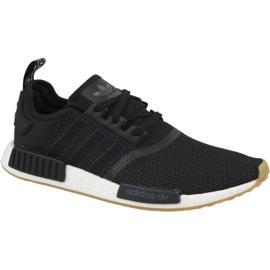 Zwart Adidas Originals schoenen NMD_R1 M B42200