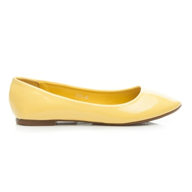 Seastar geel Gelakte ballerina