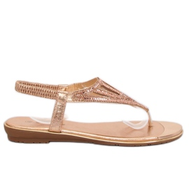 Slippers, roze M03 Champagne