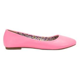 SHELOVET Casual ballerina roze