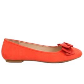 Oranje ballerina 3173 Oranje voor dames