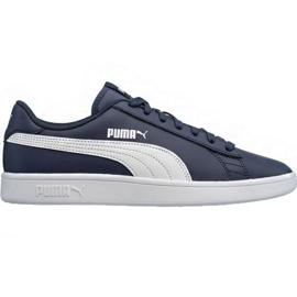 Schoenen Puma Smash v2 LM 365215 05 marine blauw