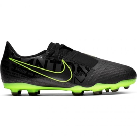Voetbalschoenen Nike Phantom Venom Academy Fg Jr AO0362 007 zwart - groen