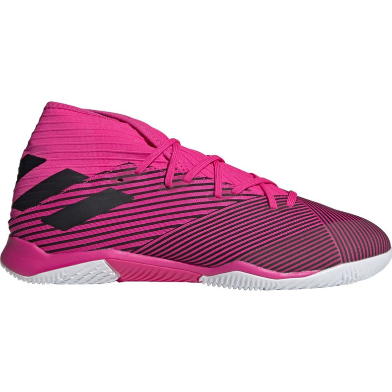 Voetbalschoenen adidas Nemeziz 19.3 In M F34411 roze zwart