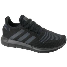 Zwart Adidas Swift Run Jr CM7919 schoenen