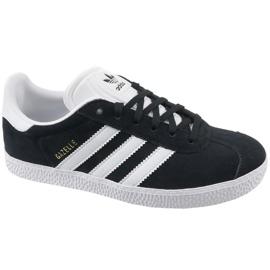 Zwart Adidas Gazelle Jr BB2502 schoenen