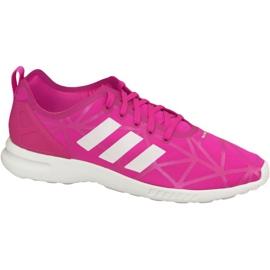 Roze Adidas Zx Flux Adv Smooth W schoenen S79502