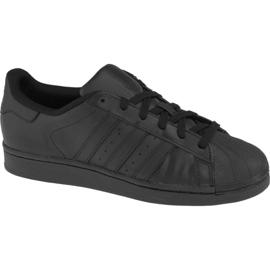 Zwart Adidas Superstar J Foundation Jr B25724 schoenen