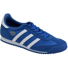 Blauw Adidas Dragon Og Jr BB2486 schoenen
