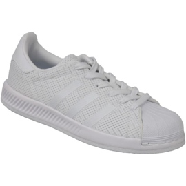 Wit Adidas Superstar Bounce Schoenen BY BY1589