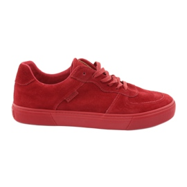 Big Star Rode ster grote sneakers 174364 rood