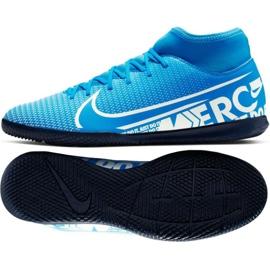 Indoorschoenen Nike Mercurial Superfly 7 Club Ic M AT7979-414 blauw blauw